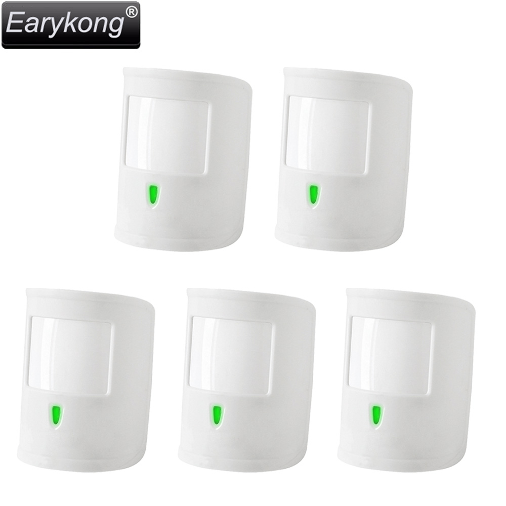 New Earykong Wireless Infrared detector, 433MHz wireless work for Home burglar system, Support Anti-white light interference<br>