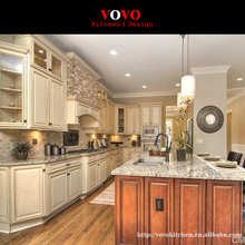 New model Solid Wood kitchen cabinet(China)
