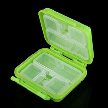 New Mini Pocket Storage Case Portable 8 Cells Pocket Storage Pill Box Case Organizer for Pills Jewelry Small Items  BS