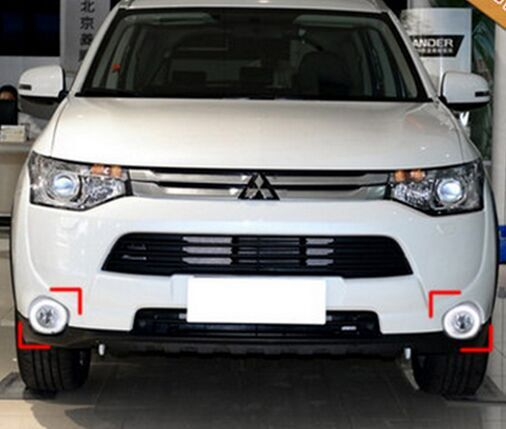 LED Daytime Running Lights LED Fog Lamp DRL for Mitsubishi Outlander 2013~ON 1:1<br><br>Aliexpress