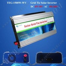 1500w on grid solar inverter 1.5kw grid tie solar micro inverter dc 48v to ac 220v