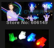 2000PCS X Color LED Light Bright Finger Ring Party Fun Gadget Laser Beams Torch New Free shipping