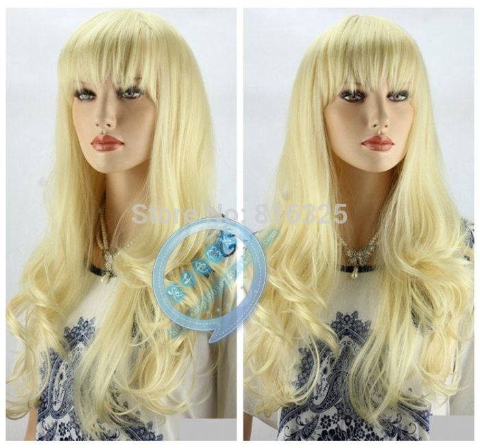 shun 690027&gt;&gt;&gt;&gt;&gt;&gt;New Fashion Wig Sexy Woman Light Blonde Wig Long Curly Hair Boutique Wigsurly Hai<br><br>Aliexpress