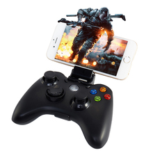 Controllers Wireless Bluetooth Gamepad Double vibration Remote Control Joystick For PS 3 PC Android iphone TV Box Smart TV(China)