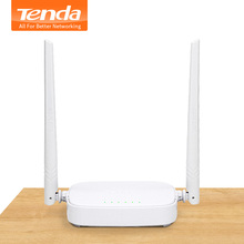 Tenda N301 300Mbs Wireless WiFi Router, WiFi Repeater, Wi-Fi Signal Amplifier, 4 Ports RJ45,English/Russian Firmware, Easy Setup