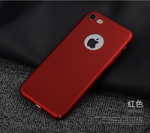 50pcs/lot Free shipping 5colours Solid color Hand Scrub plastic phone case cover for apple iphone 5 5s se 6 6plus 7 7plus cover