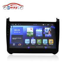 "Bway 10.2"" car radio for VW polo 2015 android 5.1 car dvd player with bluetooth,GPS Navi,SWC,wifi,Mirror link,DVR"