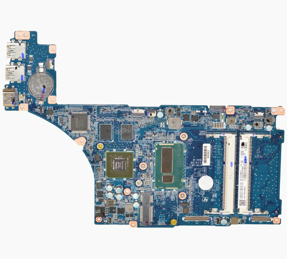 Original For Sony SVF15N Laptop Motherboard DA0FI3MB8D0 A1973181A With i7-4500U MainBoard 100% Tested Fast Ship