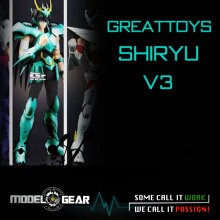 NEW ARRIVAL GREAT TOYS GreatToys GT EX Saint Seiya Dragon Shiryu V3 Myth Cloth Action Figure Special Scene Display Stand