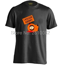 SOUTH PARK I KILLED KENNY Mens & Womens High quality Cotton T Shirt