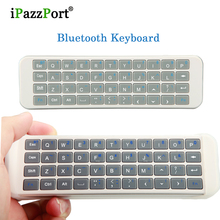2017 Protable handheld Mini Bluetooth English Keyboard Gaming Full QWERTY Remote For Tablet Laptop ipad smart TV Box Keyboards(China)