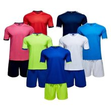 Player Version with holes Men size Multicolor optional soccer training jerseys football team unifroms Quality Jerseys(China)
