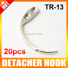 20Pcs/lot Detacher Hook Key Detacher Security Tag Remover Used For EAS Hard Tag Handheld Convenience Portable Mini One