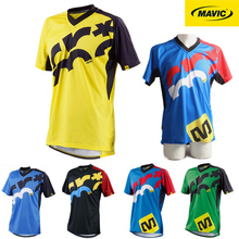 Moto Mavic Motorsport Sport T-shirt with short sleeves motocross Jerseys Bicycle MTB DH MX Jersey motorycle motorcycling Jersey