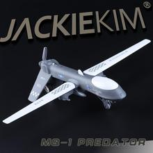 High simulation High quality alloy pull back plane,MQ-1 Predator unmanned reconnaissance aircraft,free shpping
