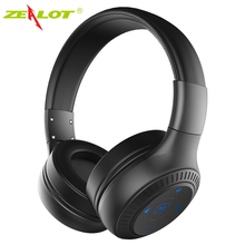 Buy Original ZEALOT B20 On-Ear Wireless Bluetooth Headphones HD Sound Bass stereo headphone Mic Earbuds iPhone Samsung for $20.30 in AliExpress store