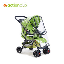 Actionclub Baby Stroller Cover Universal Waterproof Rain Cover Dust Wind Shield Stroller Accessories Pushchairs Buggys