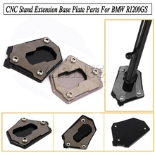 For BMW Motorcycle Accessories CNC Side Kickstand Stand Extension Plate