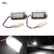 2X WHITE LED Courtesy Door Light for TOYOTA (Wish/Prius/Camry/ Highladner) Lexus (IS250/RX350/LS430)