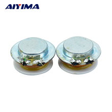 AIYIMA 2Pcs Audio Full Range Speakers 1Inch  2W 4Ohm 24MM Vibration Resonance Speaker loudspeaker