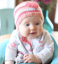 Retail Rainbow  hat Knitted Beanie  Crochet pattern Hats kids warm Cap Beanie Beret Skull Caps