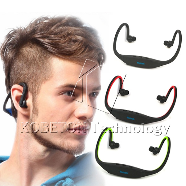 2015 Universal High Quality Wireless Stereo Earphones Bluetooth 3.0 Headset Earphone for Sport Mobile Phones with Mic<br><br>Aliexpress