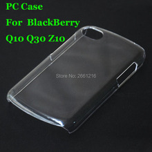 Q10 Q30 Z10 Hard PC Case Ultra Thin Clear Hard Plastic Cover Protective Skin For BlackBerry Q10 / Passport Q30 / Z10