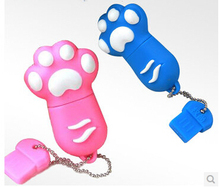 Cartoon Cat paw usb flash drive Memory Stick Drive Thum/Car/Pen USB Flash Drive  Festival   creative Pendrive  S3  AA