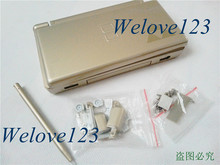5set housing replace for Zelda Gold shell Set Case for Nintendo NDSL DS Lite Console Case free shipping