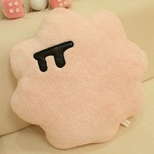 Candice guo! Hot sale cotton candy plush toy stuffed toy personality cushion home decoration 1pc