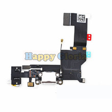 100% New High Quality Charger Charging Port Dock USB Connector Data Flex Cable For iphone 5S Ribbon Replacement Parts(China)