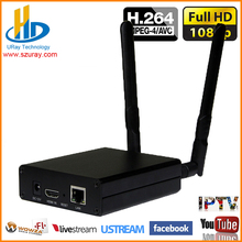 H.264 HD HDMI Encoder With WIFI For IPTV, IP Streaming Encoder H264 Server IPTV Encoder RTMP /UDP HDMI To IP Audio Video Stream