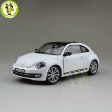 1/24 VW Volkswagen New Beetle Welly 24032 Diecast Model Car White