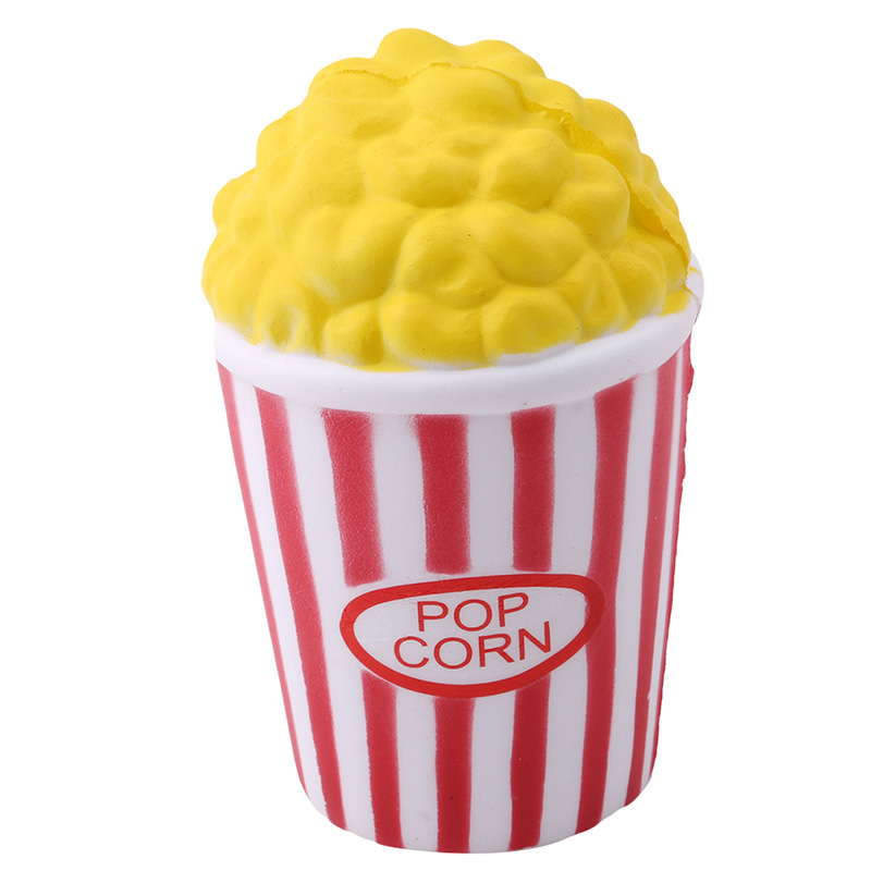 Funny-Creative-Toys-Squeeze-Popcorn-Cup-Squishy-Slow-Rising-Decompression-Easter-Phone-Strap-Toy