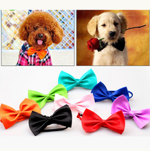50pcs/lot Cool Pet Dog Cat bow tie neck tie doggy puppy bows necklace neckties small animals neck bows ornaments supply CW-80154