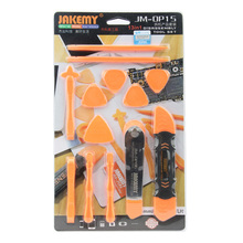Jakemy Mobile Phone Repair Tool Sets Metal Plastic Spudger Pry Opening Screen LCD Knife Tools Kit Stainless Steel For iPhone 7 6