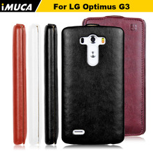 for Lg g2 IMUCA Leather Case For LG G2 F320 D801 LS980 D802 D805 D800 D803 Flip Case Cover For LG G2 Mobile Phone Accessories