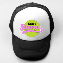 Futurama Enjoy Slurm Baseball Cap Men Women YOU ME AT SIX Rock Band Boy's Girl's Hat Sports Mesh Snapback Cap for Lady