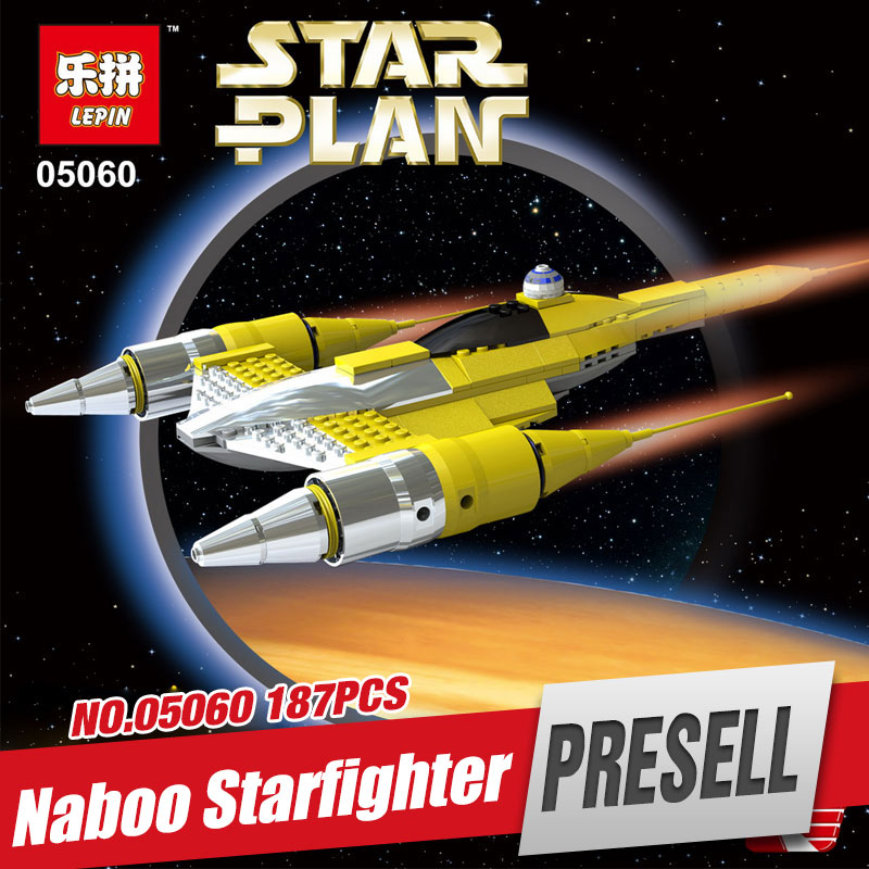 Lepin 05060 New Star War Series The Rogue One USC Naboo Style Fighter Set Building Kits Blocks Bricks Children Toys Gift 10026<br><br>Aliexpress
