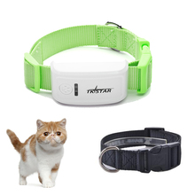 ET09 Pet GPS Tracker with collar, Geofence, ON/OFF Button, IP65 Waterproof dog and cat gps tracker