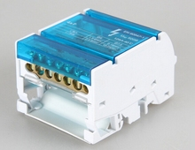 Free shipping Plastic waterproof junction box 4 * 7 cabinet two bus junction box enclosure
