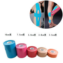 120pcs/lot Sports Muscle Stickers Tape Roll Cotton Elastic Adhesive Therapy Muscle Muscle Bandage Strain Injury Support