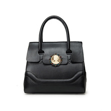 Luxury France Famous Brand Women Trapeze Bags Designer Black Leather Bags Women Tote Bags Ladies Limit Handbags Sacs Bolso Mujer
