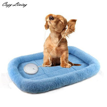 Dog Beds For Small Dogs 1 PC Dog Blanket Pet Cushion Dog Cat Beds Soft Warm Sleep Mat 40*27cm Pet Beds Sofa Wholesale D28