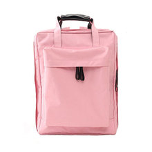 WULEKUE Waterproof Double Shoulder bag short clothes bag male and female schoolbag large capacity baggage bag backpack(China)