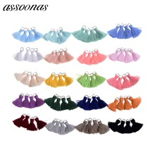 assoonas L46/jewelry findings/jewelry accessories/accessory parts/tassels for jewelry diy/cotton tassel/jewelry supplies(China)