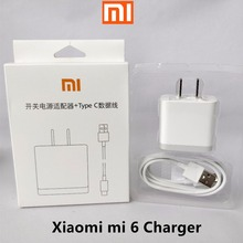Buy Original xiaomi mi 6 fast charger 12V/1.5A Qualcomm Quick Charging QC 3.0 usb wall charge adapter xiaomi 6 5 5s plus+cable for $11.43 in AliExpress store