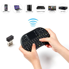 UKB - 500 - RF 2.4GHz 92 keys Mini Wireless QWERTY Keyboard Mice Touchpad Mouse Combo for Android/Google TV Box XBox 360 IPTV