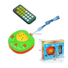 Arabic language AL-Quran apple story machine projection with light,Islam children 26 daily duaa&songs educational learning toy(China)