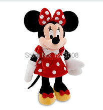 Original Mickey Plush Minnie Plush Toys 65CM Stuffed Animal,Red Large Minnie Pelucia Children Soft Baby Toys For Girls Kids Gift